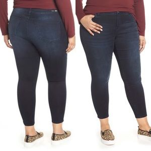 KUT Donna High Rise Ankle Skinny Jeans
